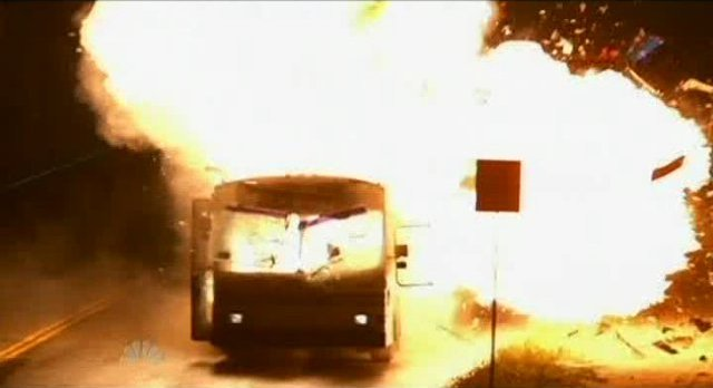 The Event S1x16 - The second bus is destroyed
