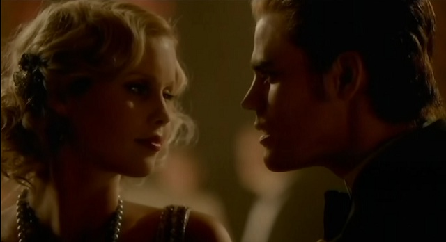 THE VAMPIRE DIARIES S3X03 REBECCA AND STEFAN