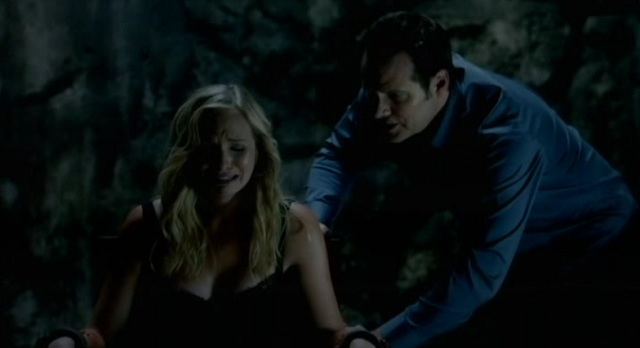 The Vampire Diaries S3x03 Caroline and Bill Forbes