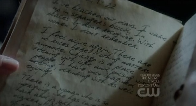 The Vampire Diaries S3x03 Stefan's Journal
