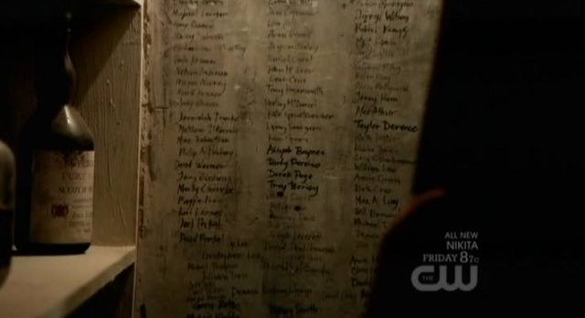 The Vampire Diaries S3x03 The Ripper Kill List