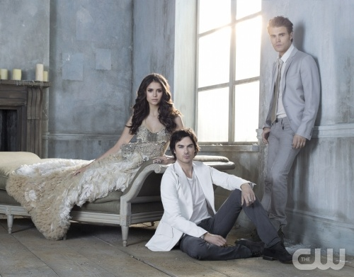 The Vampire Diaries Season 3 Promo Pic Group Shot