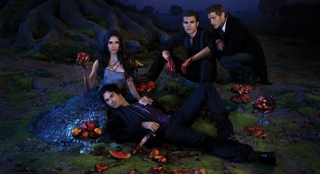 TVD Season 3 Promo Cast Poster