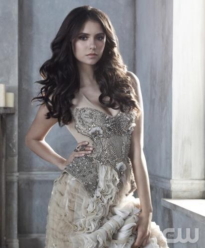 The Vampire Diaries Season 3 Promo Pics - Elena Gilbert - Catherine Petrova - Nina Dobrev