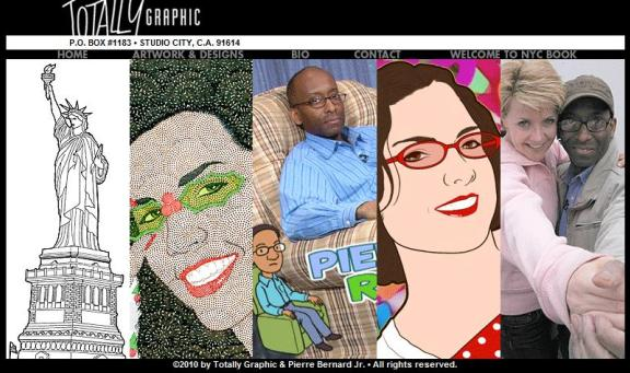 Click to visit Pierre Bernard Jr at Totally Graphic!