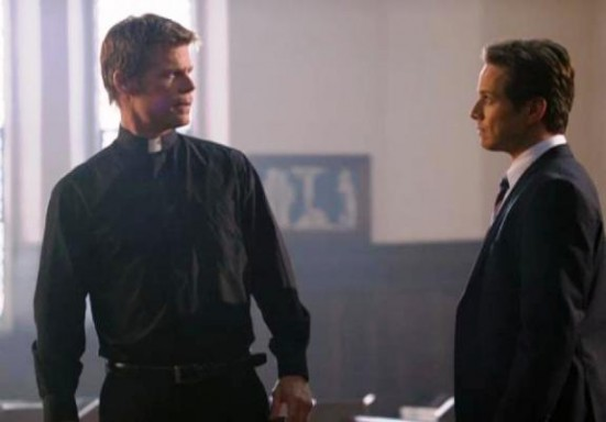 V Series Hearts & Minds - What is Chad saying to Father Jack?