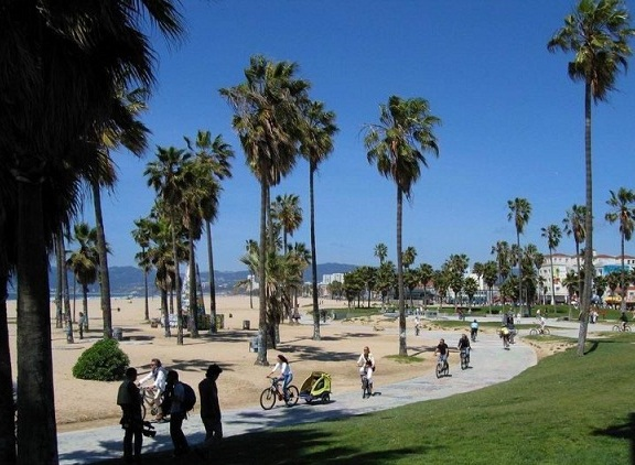 Before TriCon 2010 - A visit to Venice Beach California!