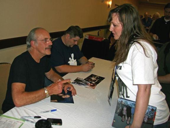 VulcanCon 2010 Christopher Lloyd & Trishy autograph