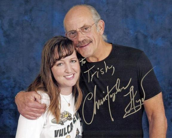 VulcanCon 2010 - Lloyd and Trishy autographed