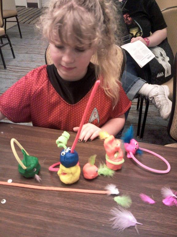 VulcanCon 2010 Playdough Erin