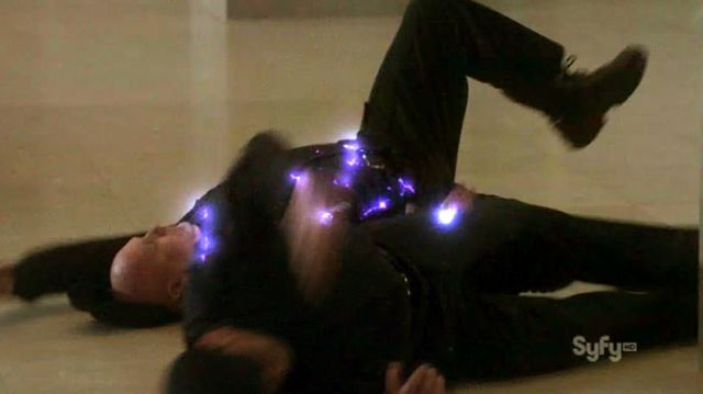 Warehouse 13 S3x08 - Tesla Zapped