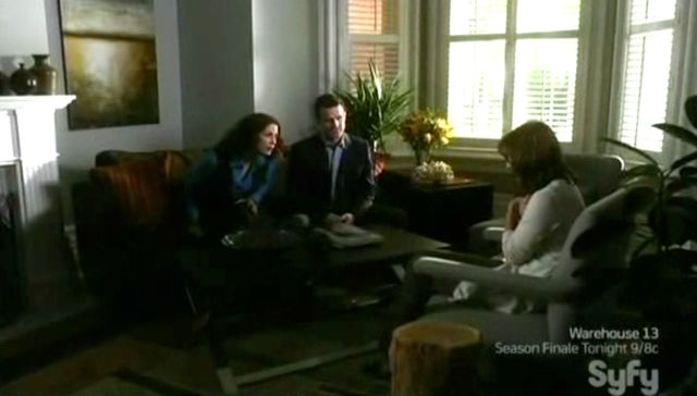 Warehouse 13 S2x11 - At The Dempsey Home