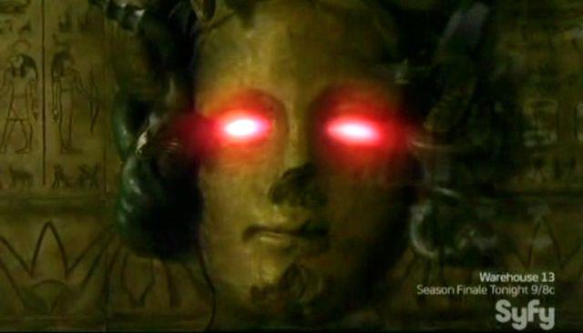 Warehouse 13 S2x11 - Medusa's eyes