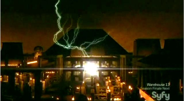 Warehouse 13 S2x11 - Lightening and orb