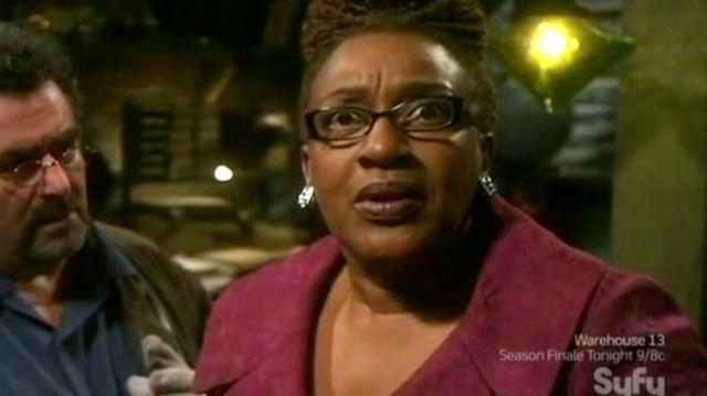 Warehouse 13 S2x11 - Mrs. Frederick speaks Demotic