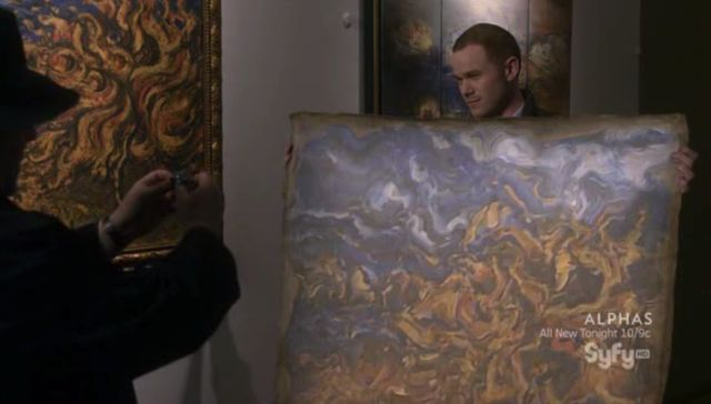 Warehouse 13 S3x06 Copying the painting