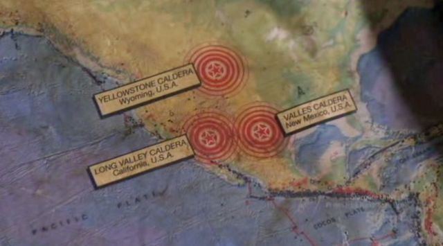 Warehouse 13 S2x12 - Seismic map-volcano activity