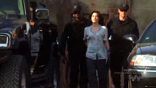 Warehouse 13 S2x12 - Helena in custody