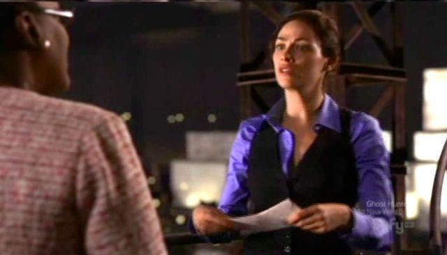 Warehouse 13 S2x12 - Myka gives letter to Mrs. Frederick