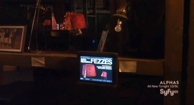 Warehouse 13 - S3x07 Fezzes