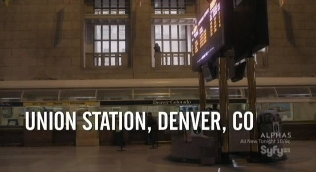 Warehouse 13 - S3x07 Union Station Colorado