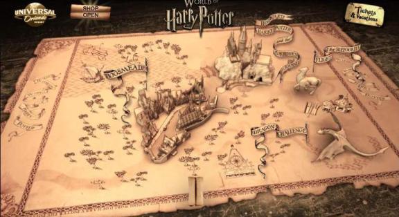 Wizarding World Universal Studios Theme Park Orlando!