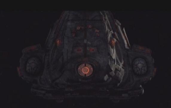 Stargate Universe S1x11 Space - Alien Ship