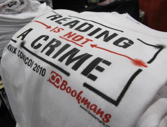 Reading is not a Crime shirts!