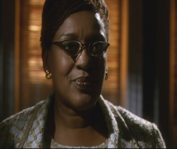 Warehouse 13 CCH Pounder as Mrs Fredericks!