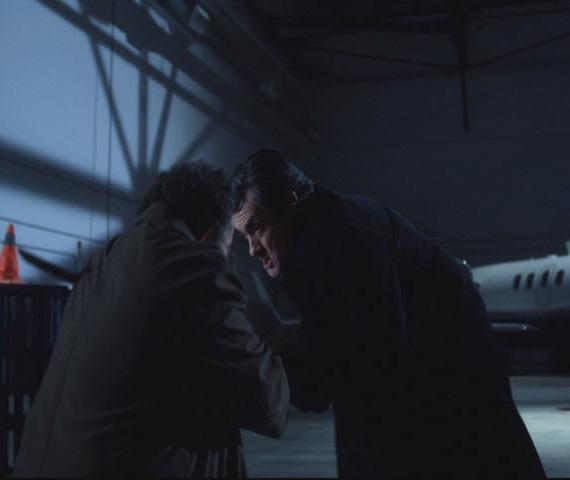 Macpherson stabbing Artie!