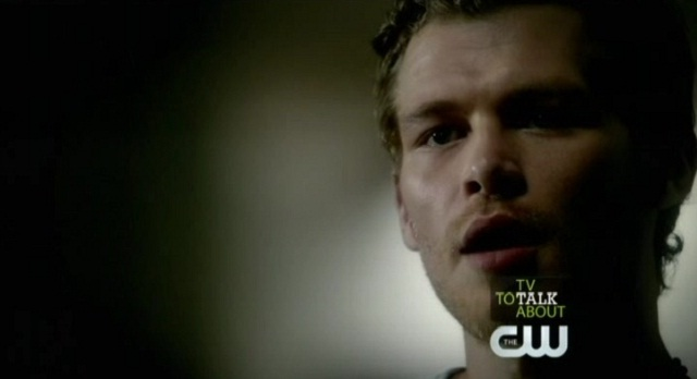 The Vampire Diaries 3x05 Klaus sneaks up on Bonnie and Matt