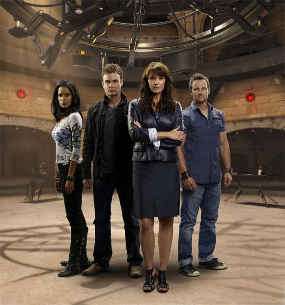 Sanctuary cast. Image courtesy SyFy and NBC