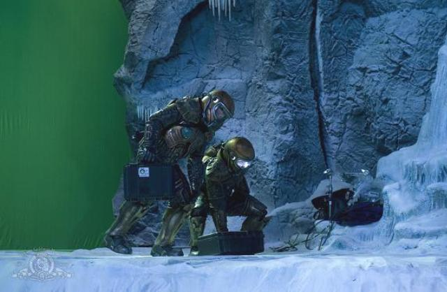"""Stargate Universe Ice Planet episode """"Water"""""""