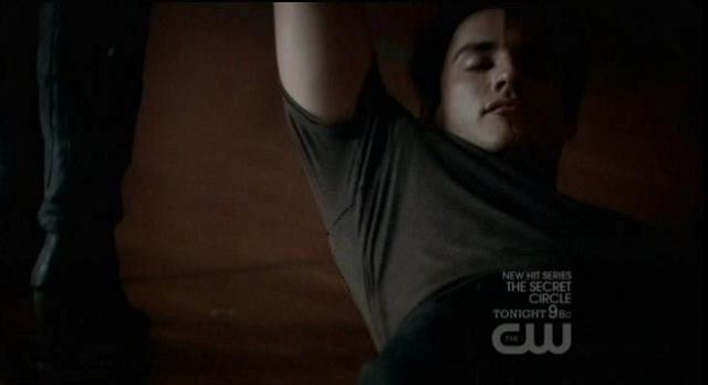 The Vampire Diaries 3x05 Tyler gets dragged away