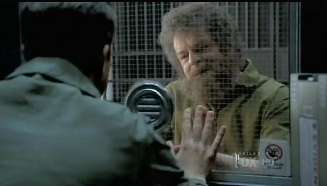 "Fringe S3XE22 ""The Day We Died"" Peter visits Walter in prison"